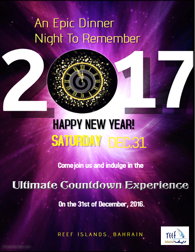 event new years eve reef island date 31st december 2016 venue reef island