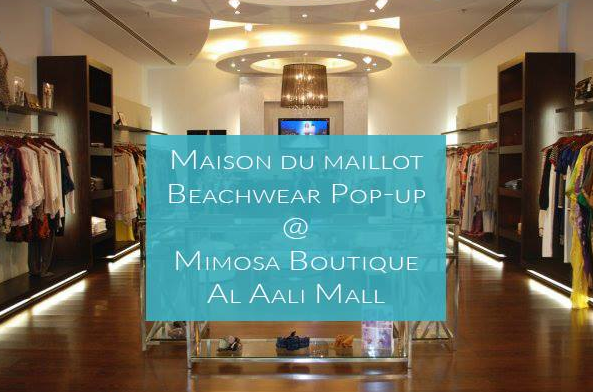 maison du maillot beachwear pop up mimosa boutique events. Black Bedroom Furniture Sets. Home Design Ideas